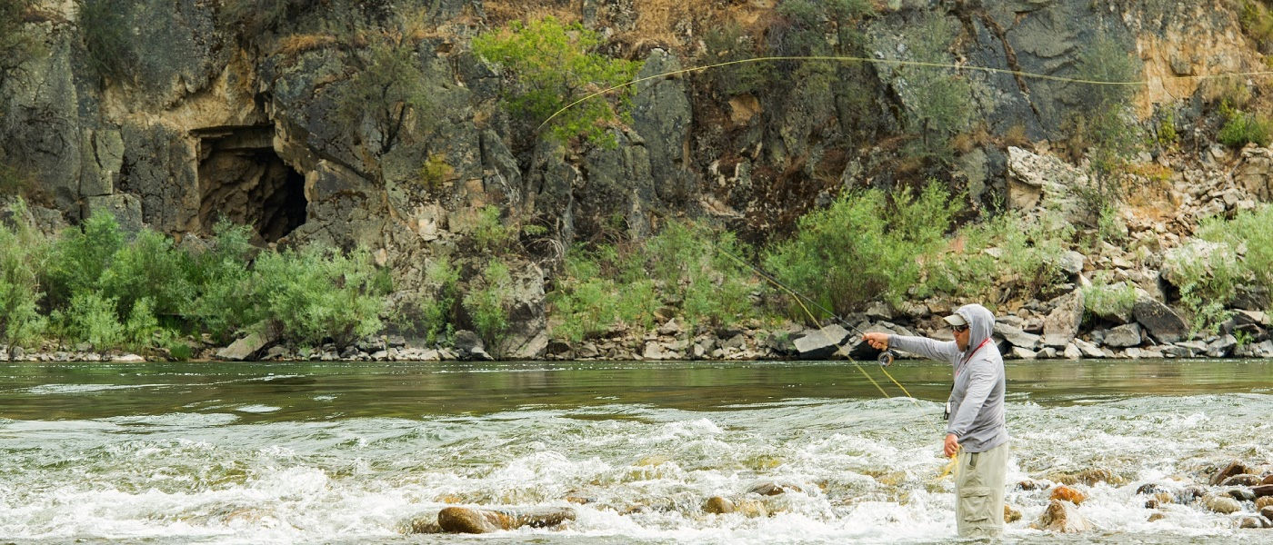Idaho Steelhead fly fishing trip
