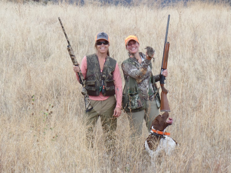 Upland Bird Hunting Lodge in the idaho wilderness